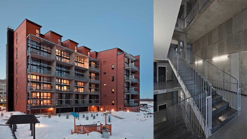 Loft Building Tila Housing Block Talli